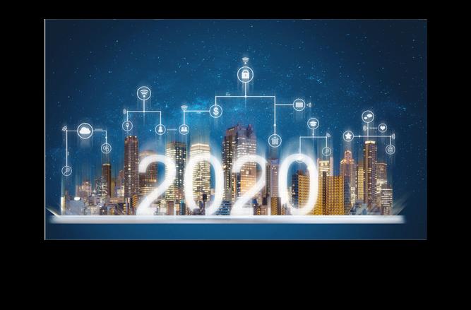 cloud adoption, 5G, blockchain, AI, AR, VR, MR - technology trends in 2020