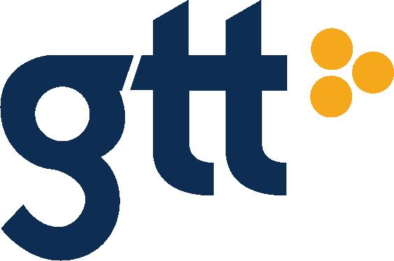 GTT logo PMS
